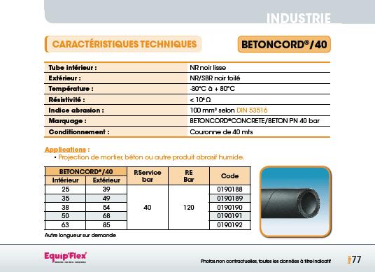 Sablage Béton Ciment Sable Gravillons, Betoncord/40