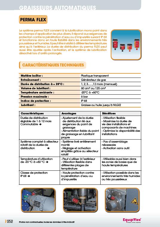 Perma Flex caractéristiques