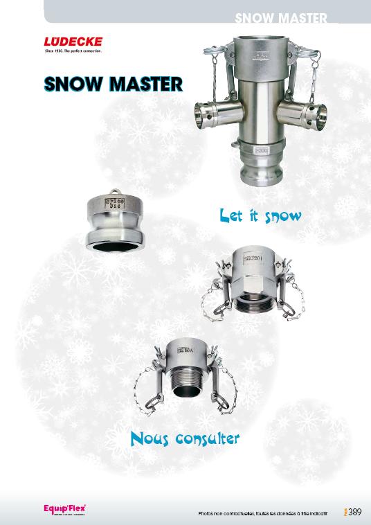 Snow master Ludecke