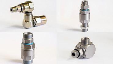 Raccords tournants hydraulique haute pression acier et inox